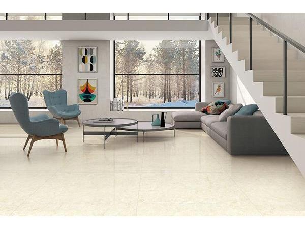 Piastrelle gres porcellanato effetto marmo beige oro gani tile