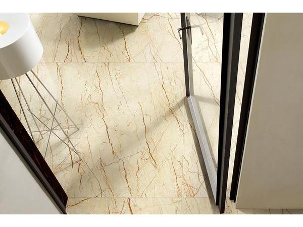 Piastrelle gres porcellanato effetto marmo sofitel oro