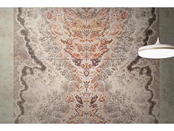 Piastrelle Da Parete Per Esterno : Piastrelle effetto marmo da parete pavone woo gani tile